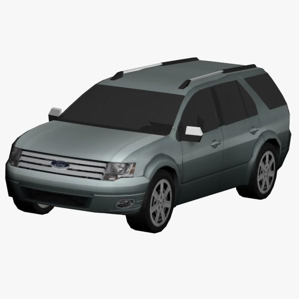 free taurus x 3d model