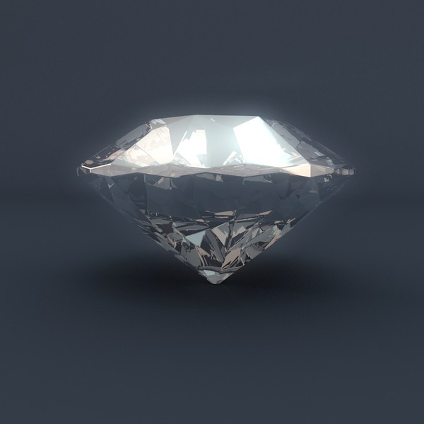 diamond brilliant cut model - Diamond Brilliant Cut... by PolyTron