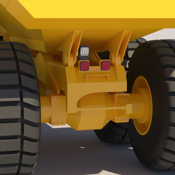 3ds articulated dump truck - Articulated Dump Truck 2012... by ArqArt3D