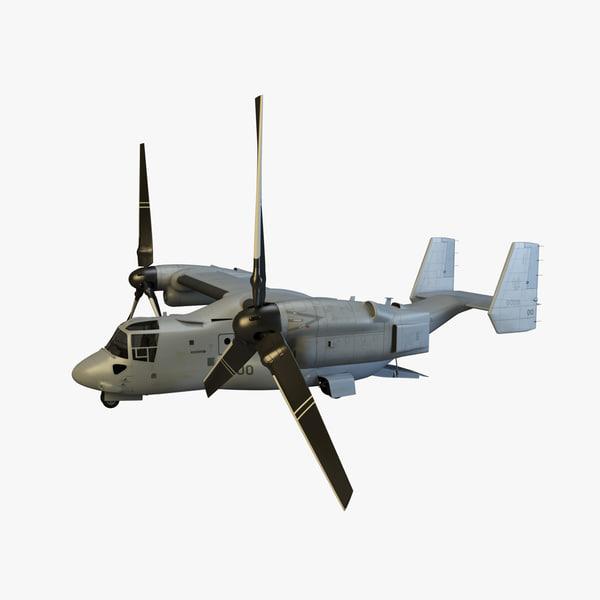 mv-22 osprey 3d obj