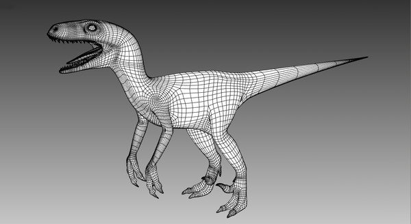 3d model raptor - Raptor... by Imagework