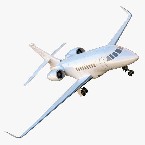 Dassault Falcon 2000 - Generic White