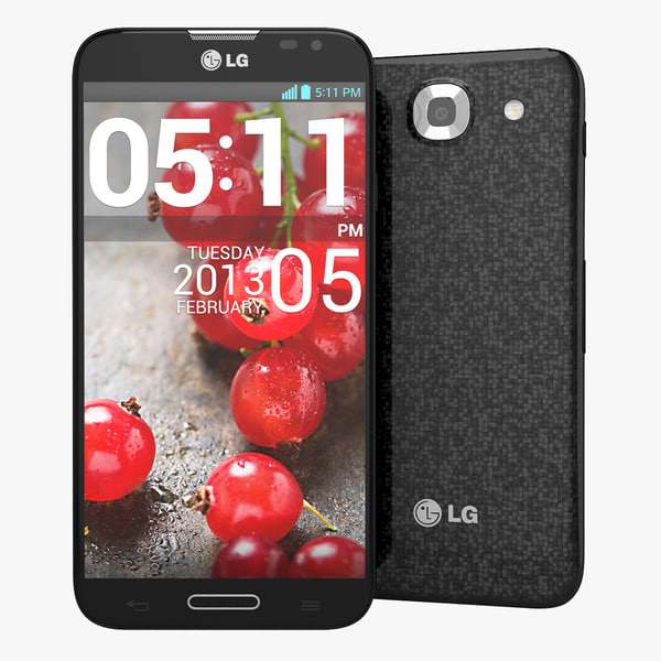 LG Optimus G Pro E985 Smartphone Black