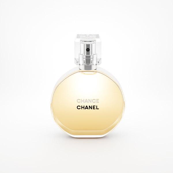 parfume chanel chance eau 3d 3ds. Black Bedroom Furniture Sets. Home Design Ideas