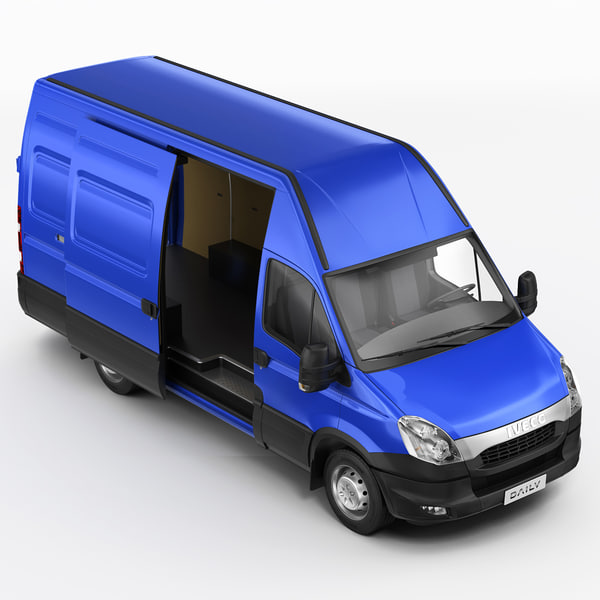 iveco daily 3d model - IVECO DAILY 2012... by jekich1