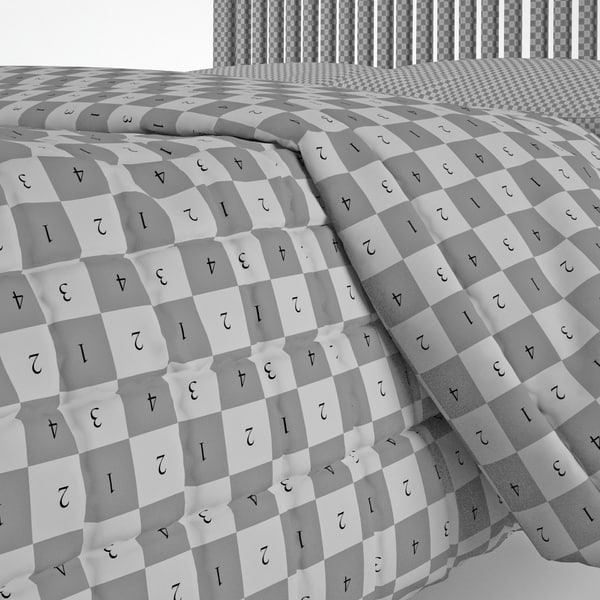 maya duvet standard double bed - Duvet standard double (folded)... by C A Design Services 3D Team UK