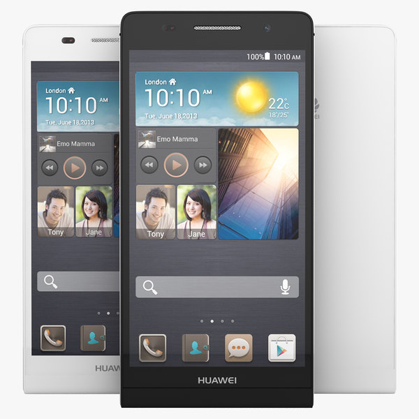 Huawei Ascend P6 Black And White