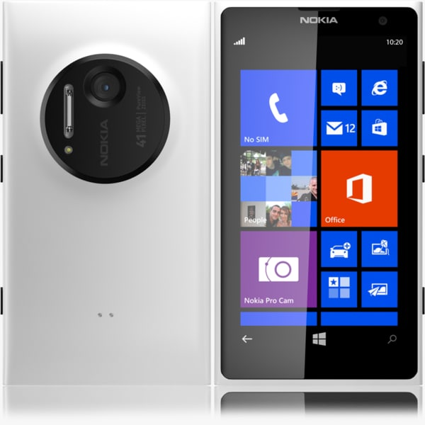 3d nokia lumia 1020 white