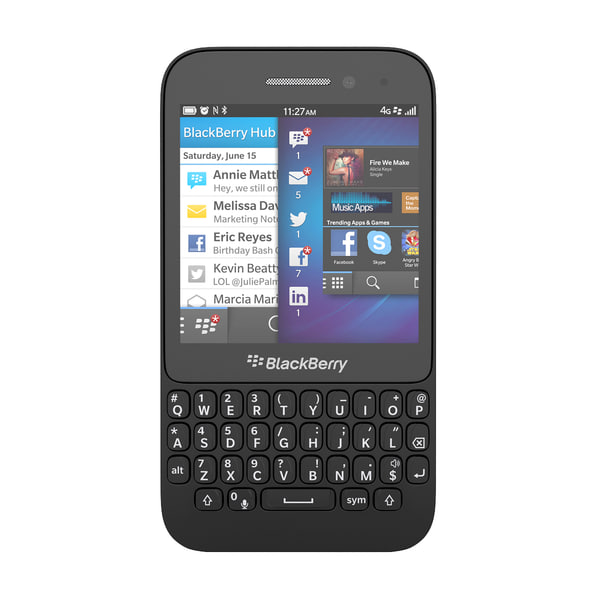 3d blackberry q5 qwerty smartphone - Blackberry Q5 QWERTY Smartphone In Black, White, Red and P... by Leeift