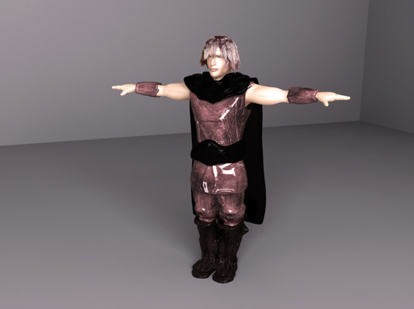 3d model of fantasy prince character man - Prince... by Digital Griffix Studios