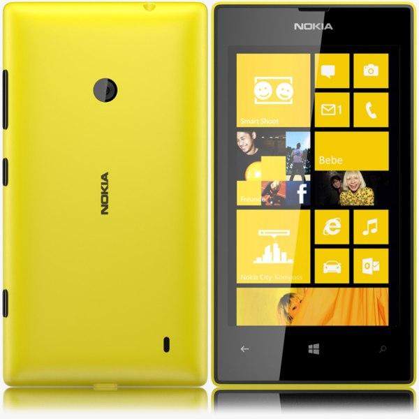 nokia lumia 520 3d max