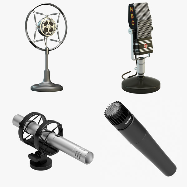 4 Microphones Set