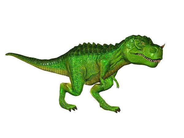 3dFoin Tyrannosaurus Rex