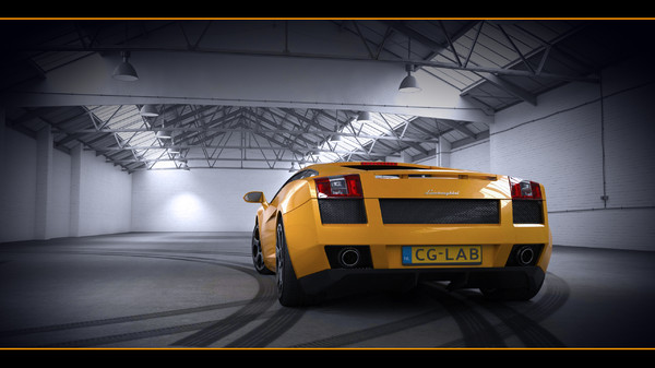 max 2003 gallardo interior - Lamboghini Gallardo - With HQ interior 2003... by cg.laboratory