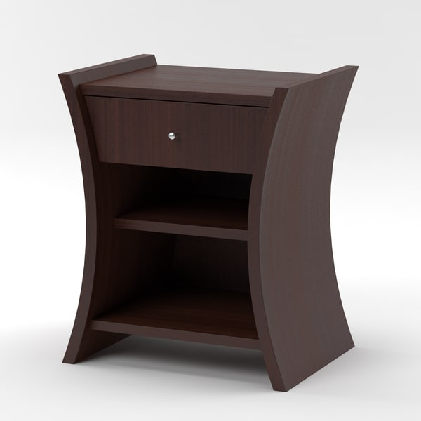 embrace bedside table african obj