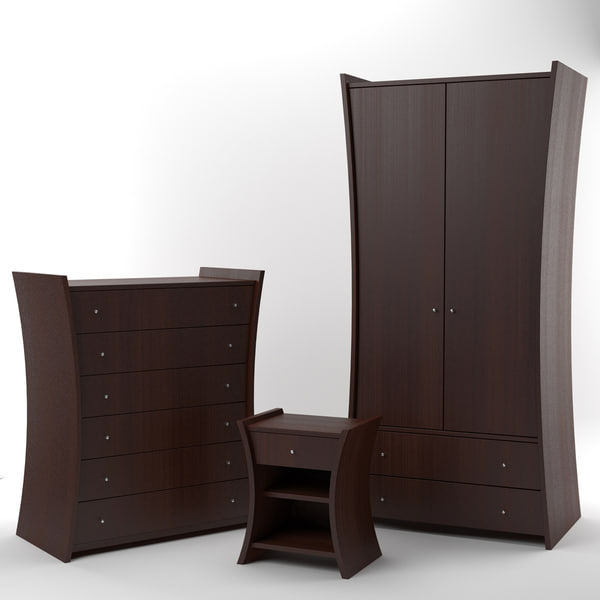 embrace furniture african cherry 3d max