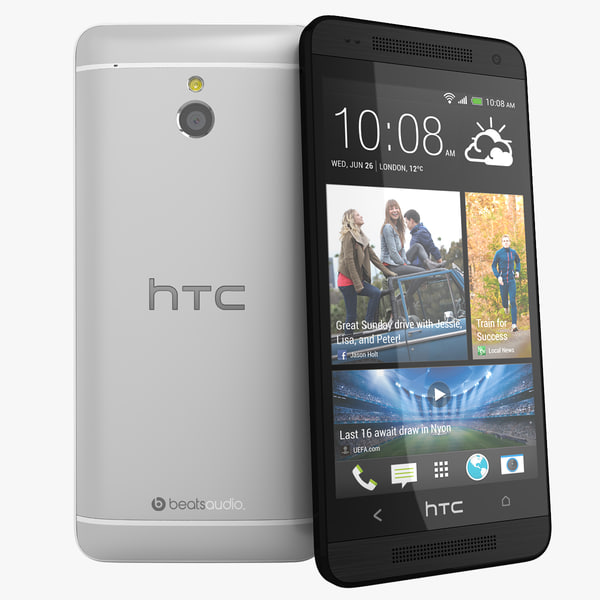htc mini silver black