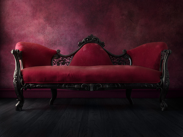 Neoclassical English Sofa