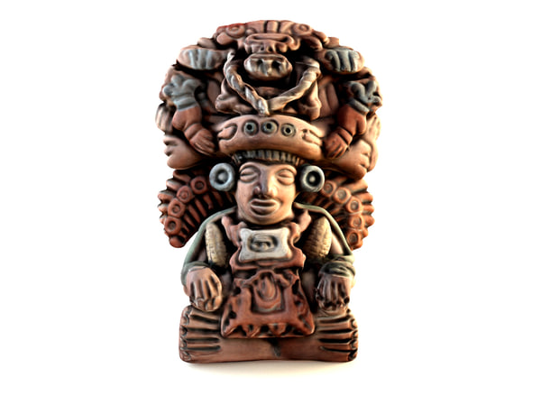 decorative mayan god maize 3d max