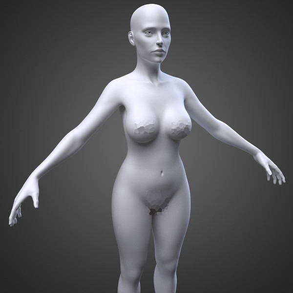 female body max - Female Body... by IndieArt