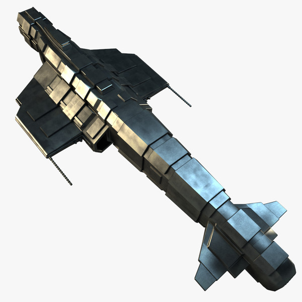 space cruiser 3d 3ds - Space Cruiser 2... by PolyTron