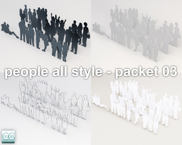 people all style - packet 03