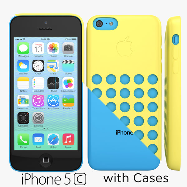 Apple iPhone 5c Colors Cases