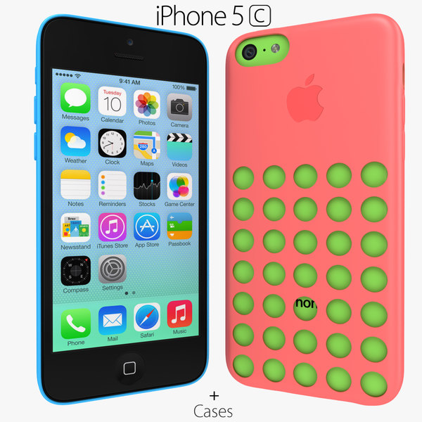 version apple iphone 5c - Apple iPhone 5c Colors Cases... by Leeift