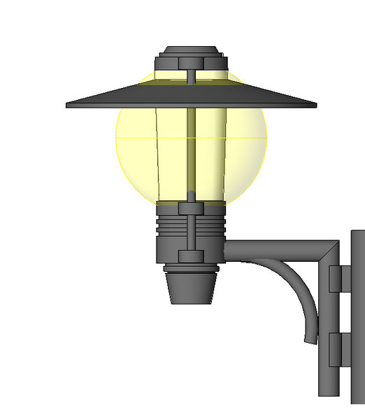 Traditional Wall Scone Light Fixture B