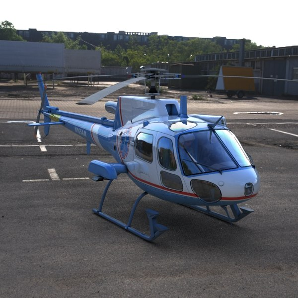 maya as350 ecureuil air ambulance