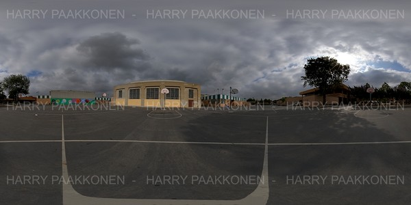 BASKETBALL COURT 360 HDR  PANORAMA #213