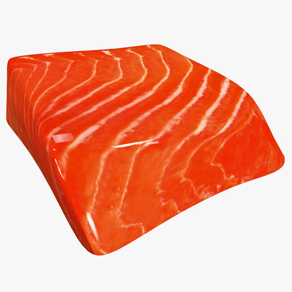 3d slab salmon steak