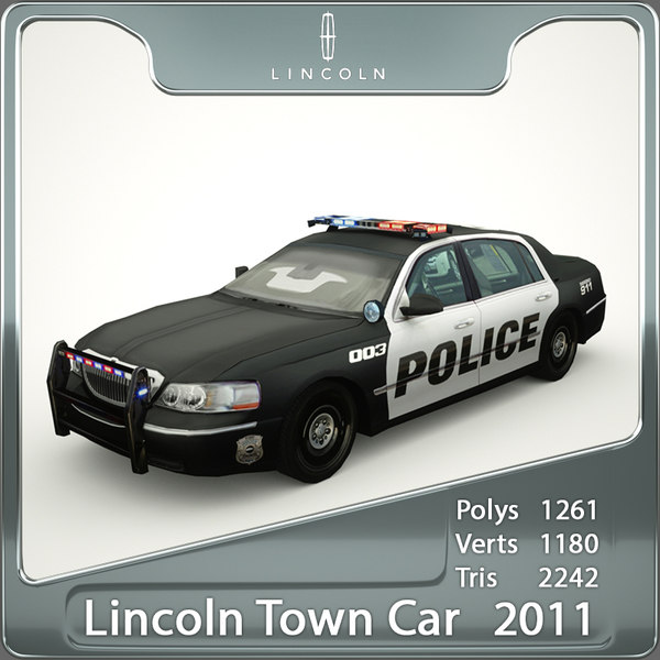 Lincoln Town Car Police 2011