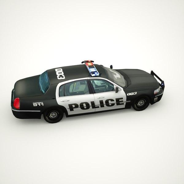 2011 Lincoln Town Car: 2011 Town Car 3d Max