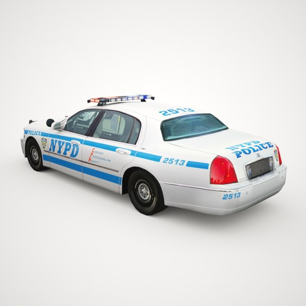 2011 Lincoln Town Car: 3ds 2011 Town Car Nypd