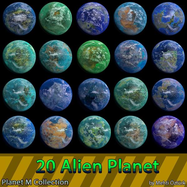 blender planets m