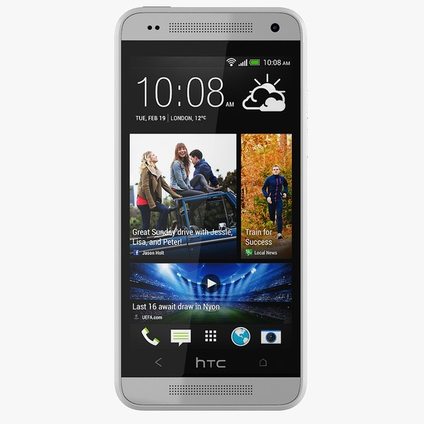 3d htc mini model - Htc One Mini White... by emallika2