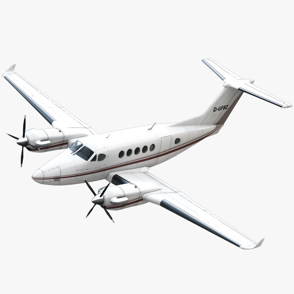Beechcraft King Air 200 Private Black