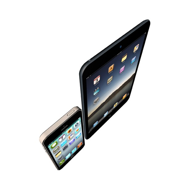3ds max apple ipad iphone 5 - Apple IPad IPhone 5 Set... by C4Dart