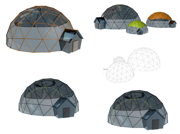 cinema4d geodesic dome