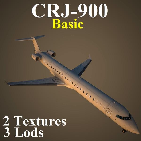 3d regional jet basic