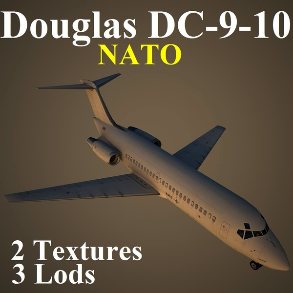 3d model of douglas nat