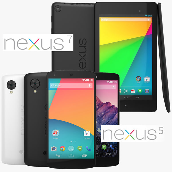 Google Nexus 5 And Nexus 7 Collection