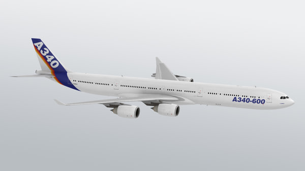 free max model airbus a340 a340-600