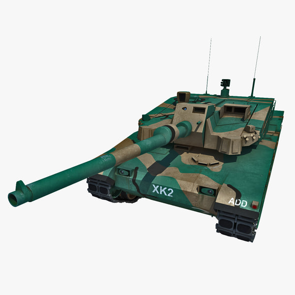 3d korea main battle tank