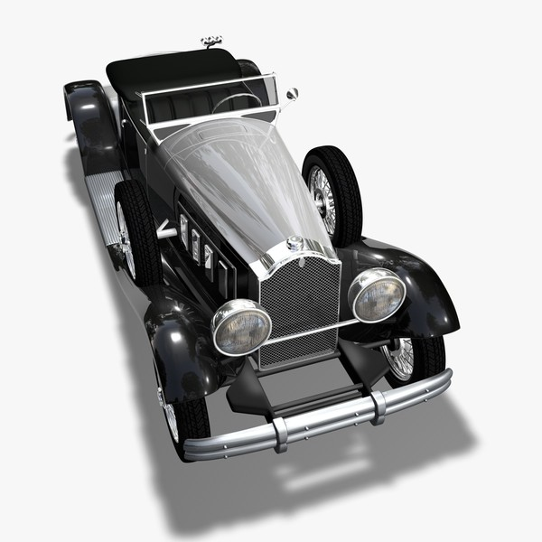 packard speedster 1930 car 3d c4d - PACKARD Speedster Eight 1930... by G. Antonio