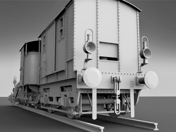 steam locomotive steyerdorf 3d model - Steyerdorf Steam Locomotive... by Locomotive_works
