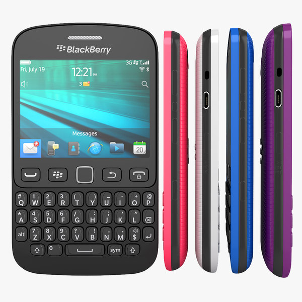 Blackberry 9720 Smartphone All Available Colors