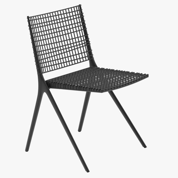 3ds max tribu branch chair