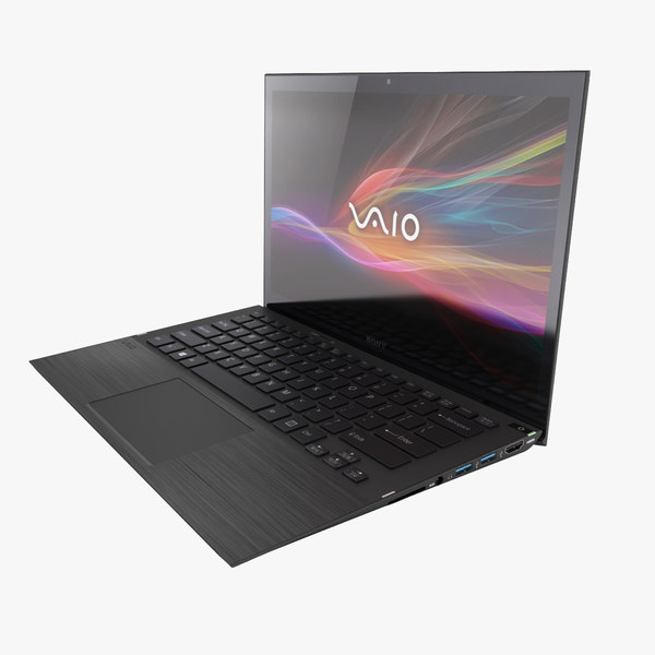 3d model sony vaio ultrabook
